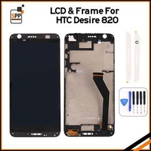 Original lcd For HTC Desire 820 D820 LCD Display Screen with Touch Screen Digitizer Assembly +Tools Free Shipping