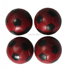 Foosball ball 36 mm 4 pcs Red babyfoot  Table Foosball balls soccer Table balls Mini football ball 24g/pcs