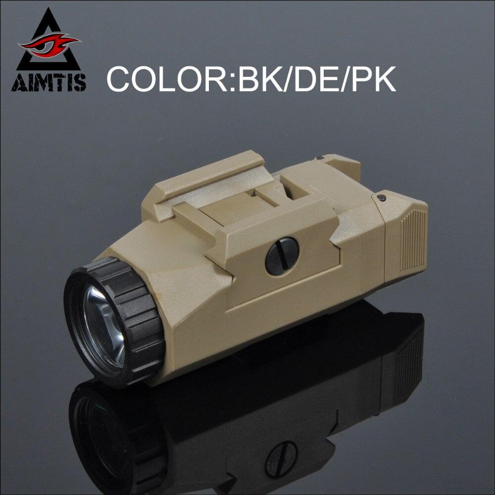 AIMTIS APL Auto Pistol Light Tactical Weapon light Inforce Handgun Flashlight G17 G19 Hunting Light Constant / Strobe Output<br>