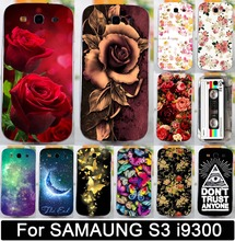 Painted Phone Cases For Samsung Galaxy S3 SIII I9300 Case 4.8 inch i9300 I939D DUOS i9300i SIII Neo+ Capa PC Plastic Shell