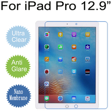 "For iPad Pro 9.7"" Clear Matte Soft Nano Explosion-proof Film For ipad pro 12.9"" LCD PET Screen Protector (Not Tempered Glass)(China)"