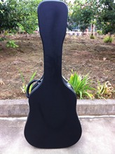 free shipping cost  41'' acoustic guitar hardcase