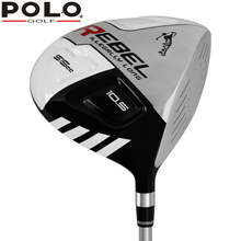POLO Authentic Golf Club Drivers #1 Wood 10.5 R Kick-off Wood Fairway 114 CM High Quality Men Beginners Wooden Right Hand Driver(China)