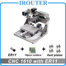 CNC 1610 with ER11 ,mini diy cnc laser engraving machine,Pcb Milling Machine,Wood Carving router,cnc1610,best Advanced toys(China)