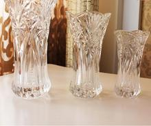 Wedding Decoration Vase For Flowers Crystal Vase  European-style Flower Arrangement Device Glass Vase Decoration
