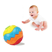 Baby toys Transformation fitness Ball Baby educational building Toys Magic Cubes puzzles for children Grasping the ball