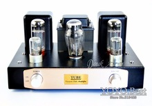 BOYUN HiFi EL34 Valve Tube Amplifier 2.0 Channel Stereo Single-ended Class A amp 12W*2 Finished Product 110~240V