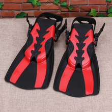 Adjustable Scuba Diving Fins Adult Long Swimming Fin Diving Flipper Unisex Swimming Training Shoes Snorkeling Flippers(China)