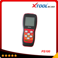 2017 Top selling 100% original free update via internet XTOOL PS100 CAN OBDII/EOBDII scanner PS 100 In stock