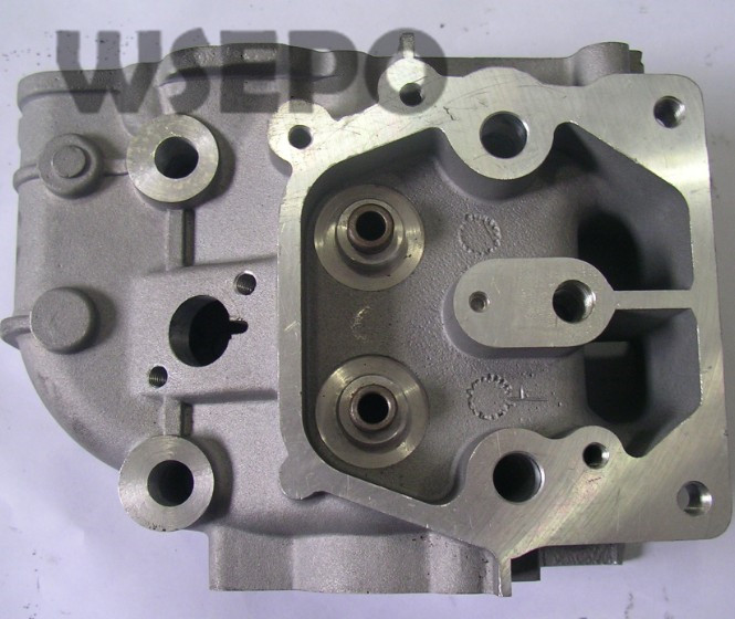 Chongqing Quality! Cylinder Head Assy(with valves and springs) for 186F L100  9HP Air Cooled Diesel Engine,5~5.5KW Generator<br>