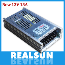 New 12V 15A 180W Switch Power Supply Driver Switching For LED Strip Light Display 110V/220V(China)