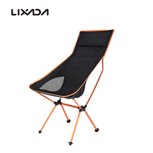 Lixada Men Outdoor Camping Chair Lengthen Lightweight Folding Camping Stool Chair Seat for Fishing Picnic BBQ Beach With Bag(China)