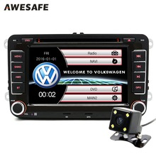 7 inch 2 Din Car DVD GPS Radio Player for Volkswagen VW golf golf 6 touran passat sharan jetta polo tiguan 2din DVD Navigation