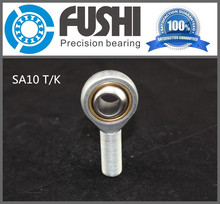 Buy SA10T/K Rod End Joint Bearings 10mm ( 1 PC ) Self Lubricating Male Right Hand Threaded Rod Ends SA10T K Bearing POSA10