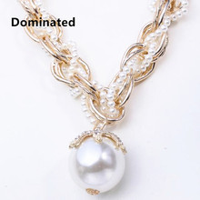 Dominated New Designer Fashion jewelry multi-layered necklace Free Shipping