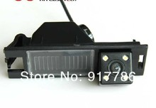 CCD HD Special Car Rear View Reverse Camera backup rearview parking for Hyundai IX35 camera with 4 HD CCD LED(China)