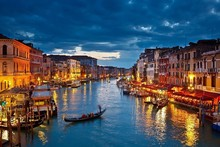 2016 Italy ,Venice city ,canals buildings Scenery Poster Silk Wall Home Decorative Printing -HD China Art Paintings