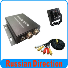 1 Channel CAR DVR Private Car Taxi DVR With Small Size Square IR Car Camera Kit