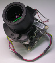 "IPC (1080P) 2.8-12mm Motorized Zoom & Auto Focal LEN 1/2.8"" SONY CMOS IMX322 + Hi3516C CCTV IP camera module board +LAN cable"