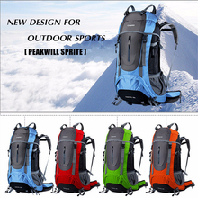 Newest Professional Mountaineering Back pack Large capacity Portable Outdoor Sports Backpacks Waterproof Travel Bag 45L 60L 65L