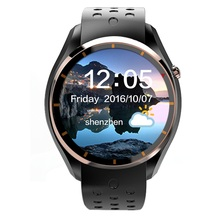 New Smart Watch Phone 3G GPS WIFI Google now Android 5.1 MTK6580 Quad Core 1.3GHz Bluetooth 4.0 512MB RAM 4GB ROM Smartwatch