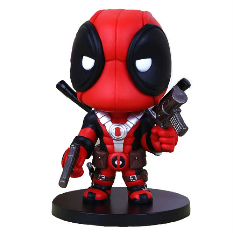 2017 Q  Version one piece Anime X-men figurine PVC Doll Funko Pop Deadpool Action Figure Toys For Children collection<br><br>Aliexpress