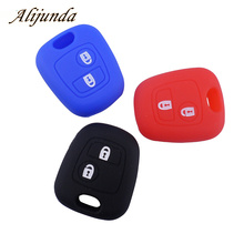 Silicone key cover case for Peugeot 107 206 307 207 406 408 For Citroen C1 C2 C3 Berlingo Picasso Xsara Picasso for Toyota Aygo