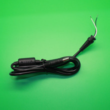 DC 4.8 x 1.7 4.8*1.7mm Power Supply Plug Connector With Cord / Cable For HP Compaq Laptop Adapter(China)