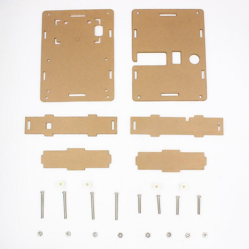 16 Latest LCR-T4 ESR Meter Transistor Tester Diode Triode Capacitance Mos Mega328 Transistor Tester + CASE (not Battery ) 1