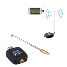 Wholesale DVB-T Micro USB Tuner Mobile TV Receiver Stick For Android Tablet Pad Phone