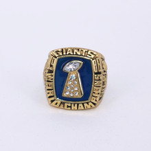 USA size 10.5! 1986 New York Giants Super Bowl 21 Championship Rings Replica TAYLOR Solid Ring Drop Shipping(China)