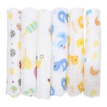 Buy 30x50cm Baby Cotton Gauze Face Towel Baby Towel Wash Cloth Handkerchiefs Infant Baby Feeding Saliva Towel for $1.22 in AliExpress store