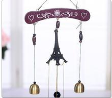Paris tower Campanula metal decoration Feng Shui Home Furnishing bell(China)