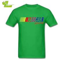 Nascar Racing Logo Male T Shirt Leisure Summer Loose T-Shirt Men's Summer Round Neck Tee Teenage Unique Clothing American F1