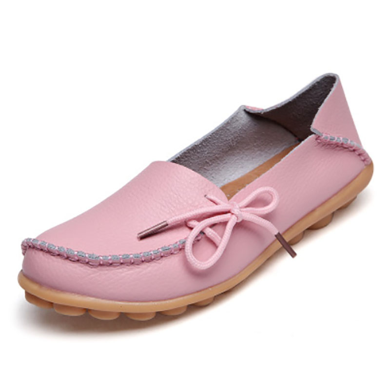 New Fashion Women Flats For 2017 Casual Loafers Lace-Up Shoes Large Size Women Shoes 10 Colors 7d51<br><br>Aliexpress