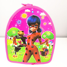 1pc 29*23*13cm Miraculous Ladybug Cat Noir SchoolBag Daypack PP Bag Birthday Party Favors Party supplies Gift For Kids Boy Girl(China)