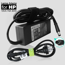 High Quality 19V 4.74A 90W 7.4*5.0mm Laptop AC Power Adapter Charger For HP Compaq Notebook DV4 DV5 DV6 DV7 N113 CQ40 CQ42 510