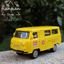 1:64 school bus Children toy car model Collection Decoration Pocket car Children like the gift(China)