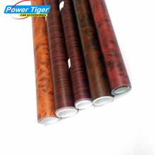 40x100 cm Car Change Color Vinyl Fiber Film Wood Grain Film Fiber Vinyl Wrap Car Sticker Moto Auto Interior PVC Film WG-001