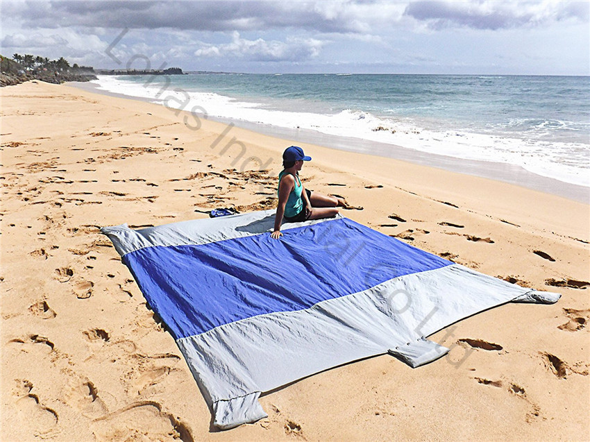 Sand Escape Compact Outdoor Beach Blanket mat new stlye30