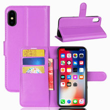 Buy High Flip Wallet Leather Case Bussness Card Slot Stand Cover Apple iPhone X (5.8 inch) Holder Protector Bag Shell for $3.32 in AliExpress store