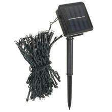 High Quality 8M 60 LED Solar Power String Fairy Light   Beautiful Outdoor Party Wedding Xmas  Restaurants or Garden Decorate