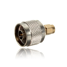 2017 SMA Male Plug To N Type Male Plug RF Coaxial Adapter Connector Alloy Steel