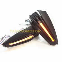 Motorcycle Handlebar Hand Guard Protector With LED Turn Signals For APRILIA RS 125 RS125 RSV4 Fairing kit RSV 1000 Tuono Shiver