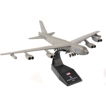 1/200 Scale USA 1955 Boeing B-52 Stratofortress Bomber Model B52 Alloy Diecast Aircraft Model for Collections(China)