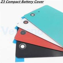 Buy Vecmnoday Original Back Battery Cover Door Sony Xperia Z3 Compact Z3 mini D5803 D5833 Housing Rear Glass Case Sticker for $5.58 in AliExpress store