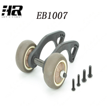 EB1007 Head wheel assembly suitable for RC car 1/10 JLB Remote control model car accessories for cross-country feet(China)