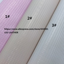 3PCS 21X29CM Glitter Leather Fabric, PU Glitter Leather for DIY accessories 3S17(China)