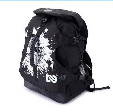 Adult Roller Skate Shoes Backpack Double-Shoulder Bag Outdoor Sports Bags Travel Hiking Camping Backpacks Size Medium &amp; Big<br>