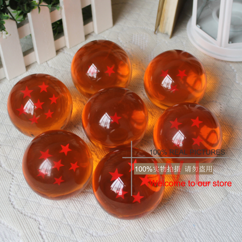73mm Japan Anime Dragon Ball Z Star Crystal Ball Big Size Retail Box Package Action Figure Collection Model Toy<br><br>Aliexpress